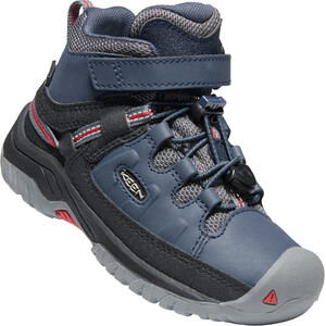 Keen Targhee Mid WP Shoes Kids, blauw blauw