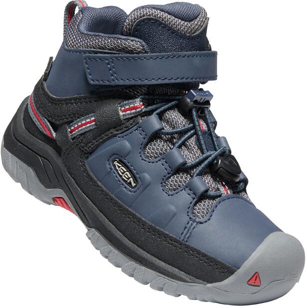 Keen Targhee Mid WP Schuhe Kinder blau