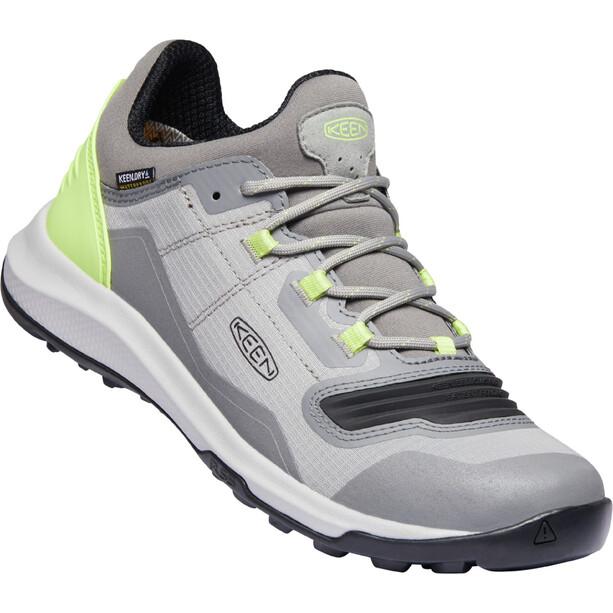 Keen Tempo Flex WP Schuhe Damen grau/grün