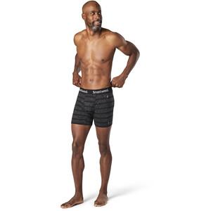 Smartwool Everyday Exploration Merino Boxershorts Herren black stripe black stripe