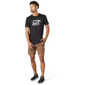 Smartwool Merino Sport 150 Shirt Bear Camp Graphic Herren black black