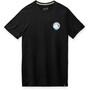 Smartwool Merino Sport 150 Shirt Two Peaks Graphic Herren schwarz