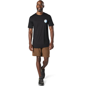 Smartwool Merino Sport 150 Shirt Two Peaks Graphic Herren black black