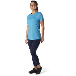 Smartwool Merino Sport 150 Shirt Damen light ocean abyss heather light ocean abyss heather