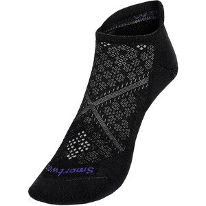 Smartwool Run Targeted Cushion Low-Cut Knöchelsocken Damen schwarz/grau schwarz/grau