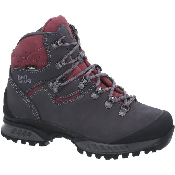 Hanwag Tatra II Schuhe Damen grau/rot