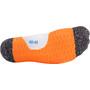 P.A.C. RN 6.0 Running Pro Mid Kompressions-Socken Damen weiß/orange