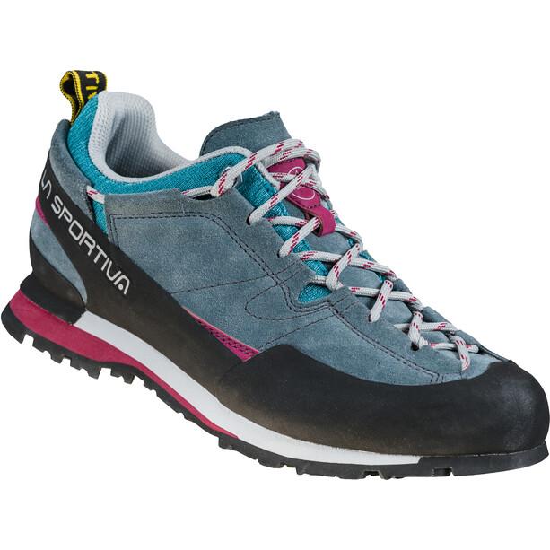 La Sportiva Boulder X Shoes Women, bleu/rose