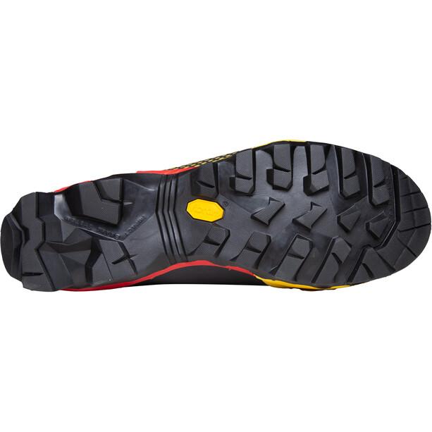 La Sportiva Aequilibrium Top GTX Shoes Men, musta/keltainen