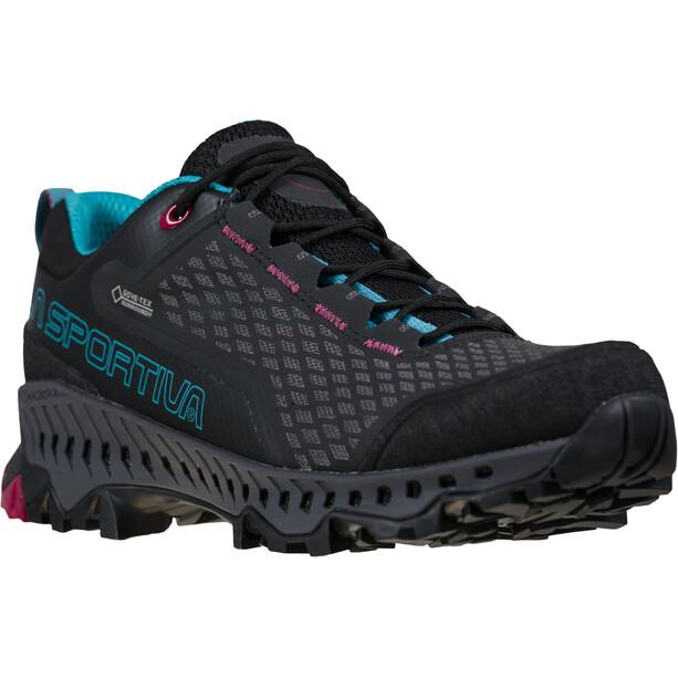 La Sportiva Spire GTX Shoes Women, noir/bleu