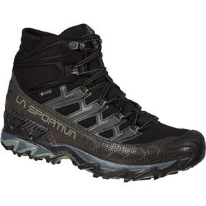 La Sportiva Ultra Raptor II Mid Wide GTX Schuhe Herren schwarz/grau schwarz/grau
