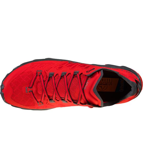 La Sportiva Helios III Running Shoes Men, rouge/gris