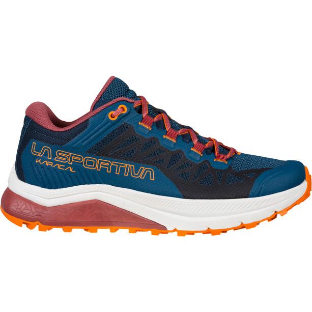 La Sportiva Karacal Schuhe Damen blau/rot