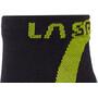 La Sportiva Ultra Running Socks, noir/vert