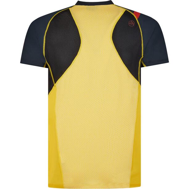 La Sportiva Xcelerator T-Shirt Herren schwarz/gelb