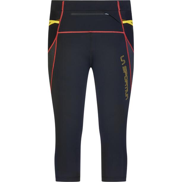 La Sportiva Triumph Tights 3/4 Herren black/yellow