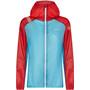 La Sportiva Briza Windbreaker Jacke Damen malibu blue/hibiscus