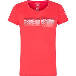 La Sportiva Mountain Running T-Shirt Women hibiscus hibiscus