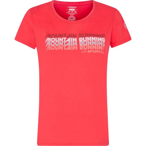 La Sportiva Mountain Running T-Shirt Women, rouge