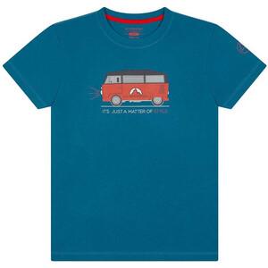 La Sportiva Van T-Shirt Kids, blauw blauw