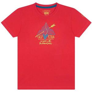 La Sportiva Alakay T-Shirt Kids, rosa rosa