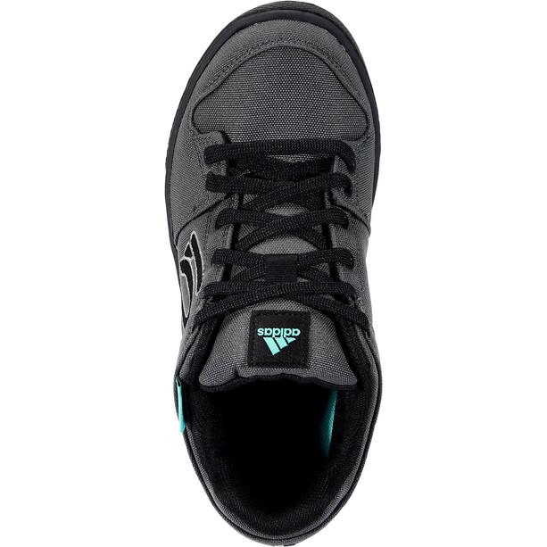 adidas Five Ten Freerider Primeblue Mountain Bike Shoes Men, dgh solid grey/grey three/acid mint