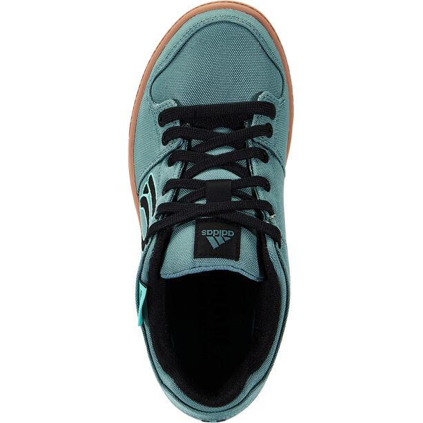 adidas Five Ten Freerider Primeblue Mountain Bike Schuhe Damen weiß/petrol