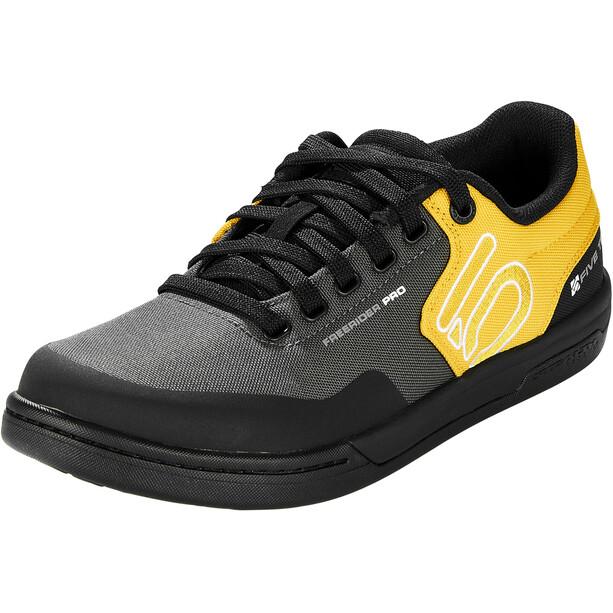adidas Five Ten Freerider Pro Primeblue Terrengsykkelsko Herre Svart/Gul