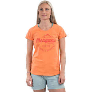 Bergans Classic T-Shirt Damen cantaloupe/brick cantaloupe/brick