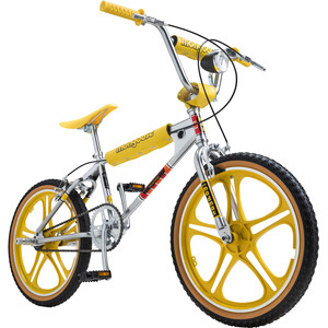 "Mongoose Stranger Things MAX 20"" Limited Edition 2. Wahl silver-yellow silver-yellow"