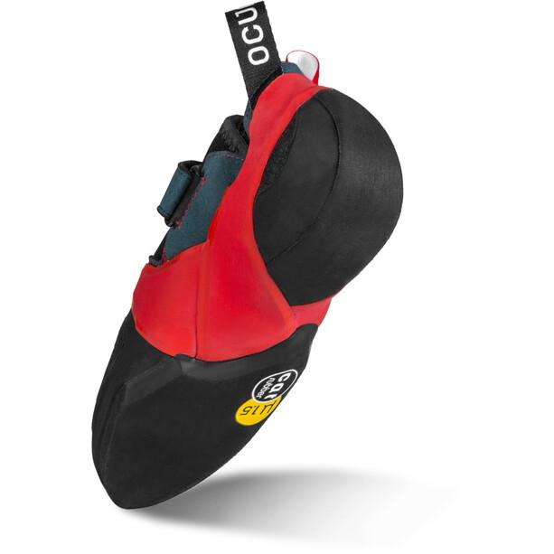 Ocun Bullit Climbing Shoes petrol/red