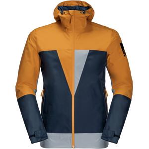 Jack Wolfskin 365 Thunderblaze Jacket Men, blauw/oranje blauw/oranje