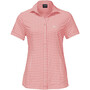 blush pink checks