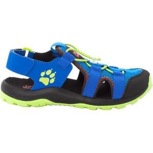 Jack Wolfskin Outdoor Action Sandalen Kinder blau/gelb blau/gelb
