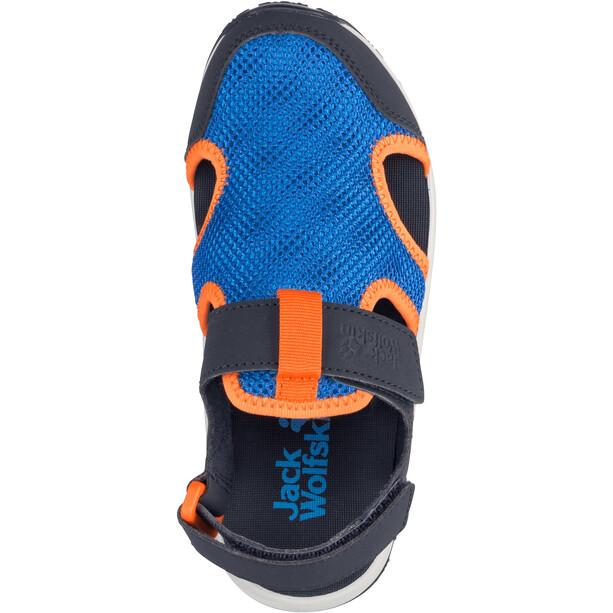 Jack Wolfskin Outdoor Water Action Sandalen Kinder blue/orange