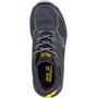 Jack Wolfskin Woodland Texapore Low Shoes Kids, dark blue/yellow