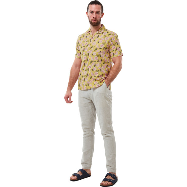 Craghoppers Pasport Shortsleeved Shirt Men, papyrus print