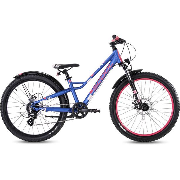 s'cool faXe 24 8-S 2. Wahl Kids blue/pink matt