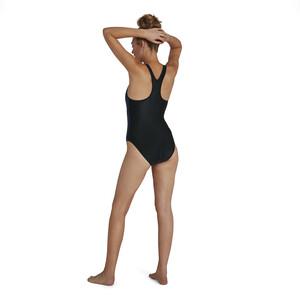 speedo Boom Logo Placement Racerback Swimsuit Women, sininen/musta sininen/musta