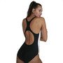 speedo Retro Digital Placement U-Back Badeanzug Damen retro white/black/begonia pink/northern/acid