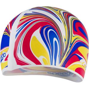 speedo Slogan Print Cap Kids, Multicolor/blanco Multicolor/blanco