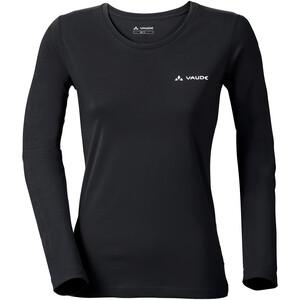 VAUDE Brand LS Shirt Women, czarny czarny