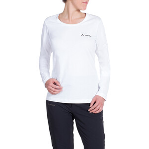VAUDE Brand Langarmshirt Damen white white