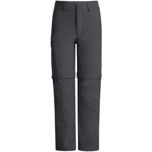 VAUDE Detective Antimos Zip-Off Pants Kids, gris gris
