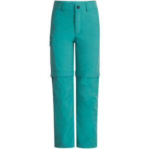 VAUDE Detective Antimos Zip-Off Pants Kids, turquoise turquoise