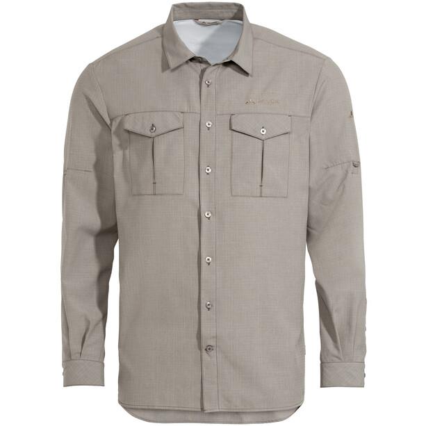 VAUDE Rosemoor LS Shirt II Men, harmaa