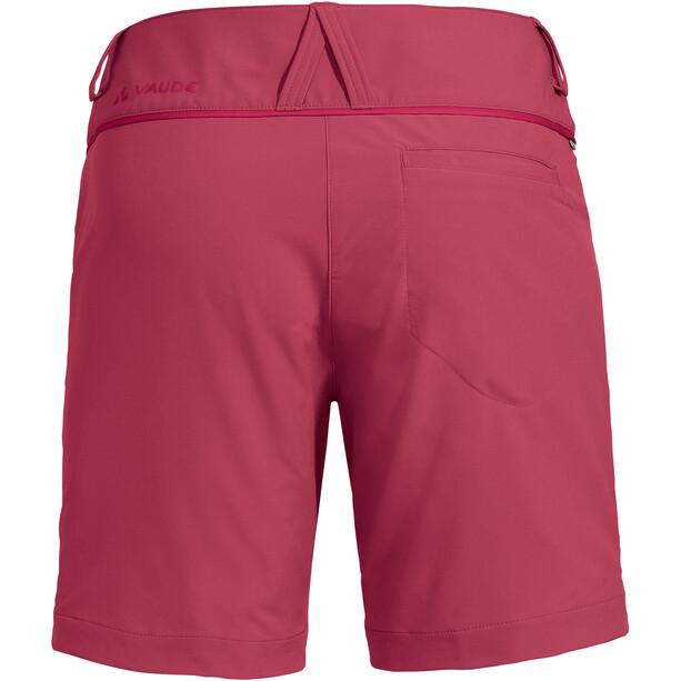 VAUDE Skomer Shorts III Damen rot