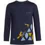 VAUDE Solaro LS T-Shirt Kids, sininen