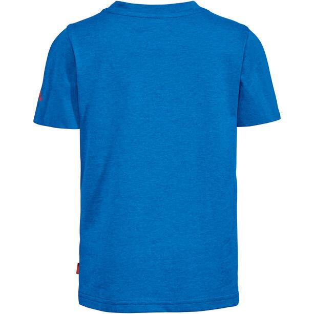 VAUDE Tammar AOP T-Shirt Kinder radiate blue