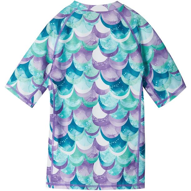 Reima Joonia Schwimm-Shirt Mädchen lila/türkis